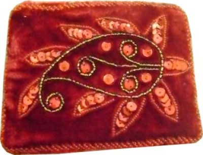 Himalaya Handicraft Handmade Embroidered Designer Carry Coin Purse