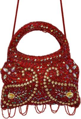 Galz4ever Red drop Hand Bag Potli