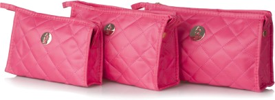 Stylehoops Vibrant Pink Cosmetic Pouch