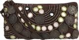 Nandeetas Charoke Cosmetic Pouch (Brown)