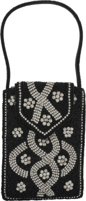 Vama Fashions Designed with CZ Stone Mobile Pouch