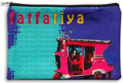 Fatfatiya Pink Taxi Utility Pouch