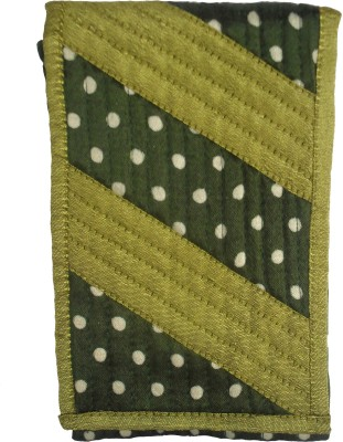 Sheela's Arts&Crafts pouches Mobile Pouch(Green)