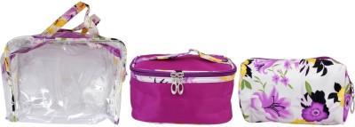 Super Drool Purple Floral Love Multiutility Pouch