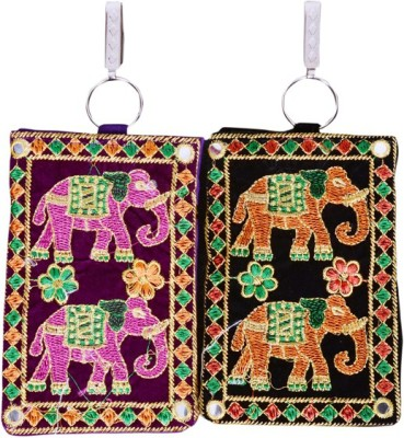 Craft Trade Craft Trade Elephant Design Mobile Pouch (D) Mobile Pouch
