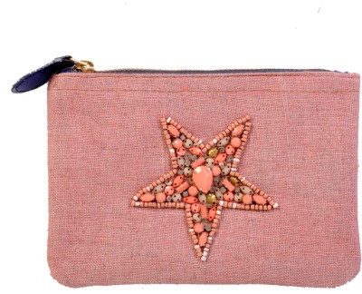Diwaah Diwaah!! Small embroidered hand coin pouch. Pouch