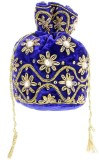 Home N Mee Royal Potli (Blue, Gold)