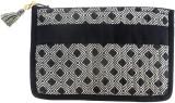 Needlecrest Cotton Quilted Pouch (Black)