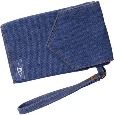 Kohl Mobile Pouch Allure Blue Wristlet(Blue)