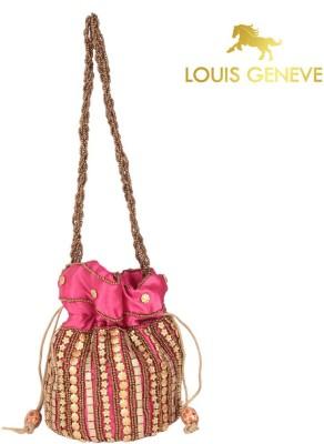 Louis Geneve Beautiful Ladies Synthetic Fabric Potli
