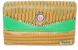 Violet TRADITIONAL POUCH Pouch (Green)