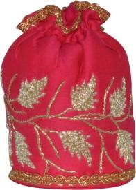 D'oro Party Favour Round (Pink) Potli
