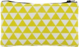 Ruse Printed Pouch (Yellow, White)