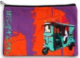 Fatfatiya Turquoise Taxi Utility Pouch (...
