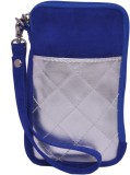 Berrypeckers Silver Quilted Mobile Pouch...