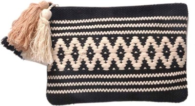 Diwaah Hand crafted Multi zip top Pouch