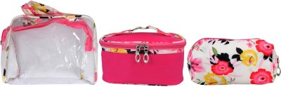 Super Drool Pink Floral Love Multiutility Pouch