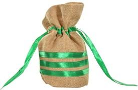 KOHl Potli Bag Small Green Wristlet