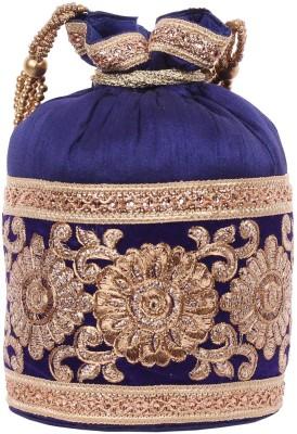 Mela Golden Embroidered Potli