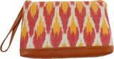 Bhamini Ikat Print Pouch (Multicolor)