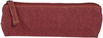Kohl Pencil Pouch Marsala Red Wristlet(Red)