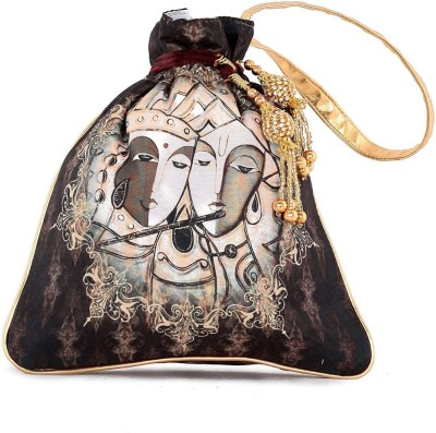 The G Street Krishna Image Potli