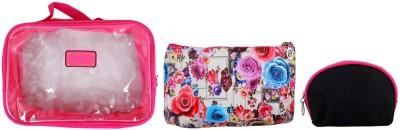 Super Drool Pink Floral Burst Multiutility Pouch