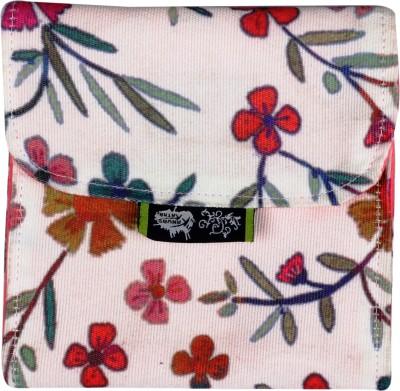 Kanvas Katha Digitally printed fashion canvas sanitary napkin Pouch