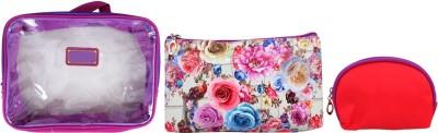 Super Drool Purple Floral Burst Multiutility Pouch