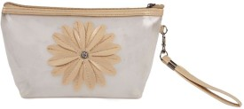 Uberlyfe Transparent Cosmetics Pouch(Beige)