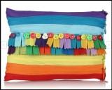 Use Me Rainbow Scrap Pouch (Multicolor)