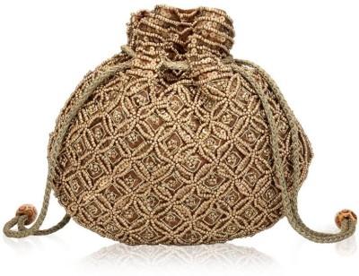 Oleva Matka Beads Sequins Pouch