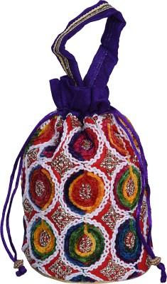 Decot Paradise Unique Design Embroidery Bags Potli
