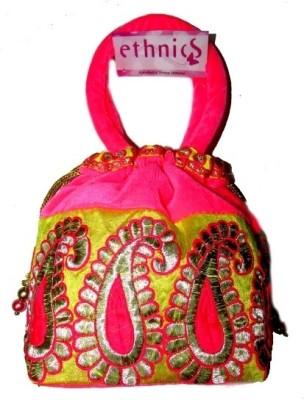 Ethnics Neon Pink Pouch