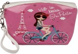 Uberlyfe Pink with Eiffel Tower Multipur...