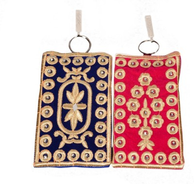 Craft Trade Craft Trade Embroidery Work Mobile Pouch (A) Mobile Pouch
