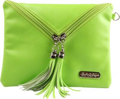 Sarah Envelope Purse Wristlet(Green, Yellow)