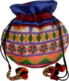 Sheela's Arts & Crafts Potli pouches Potli
