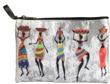 Lushomes Tribal (Grey) Pouch (Multicolor...