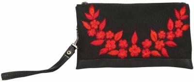 Pick Pocket Floral Bunch Wristlet