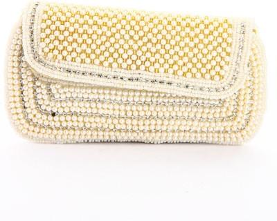 LadyBugBag Designer White Silk Mobile Pouch