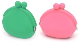 Being Juliet Coin Pouches (Green & Pink) Coin Purse