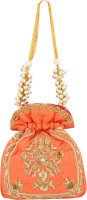 D'oro D'oro Hang-over - Party Favour Draw String (Peach) Potli(Peach)