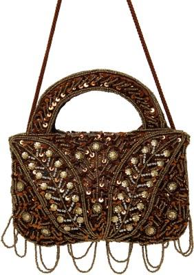 Galz4ever Brawn & Gold Drop Hand Bag Potli