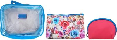 Super Drool Blue Floral Burst Multiutility Pouch