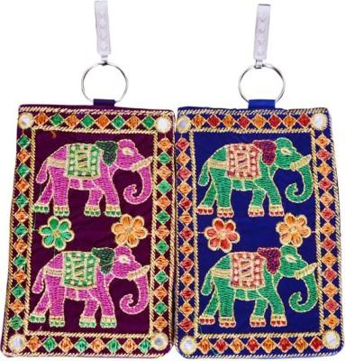 Craft Trade Craft Trade Elephant Design Mobile Pouch (E) Mobile Pouch
