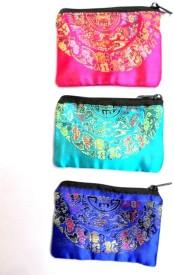 HR Handicrafts HG-299 Pouch(Multicolor)