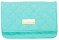 Bebe WBE02-272 Neon Teal Pouch