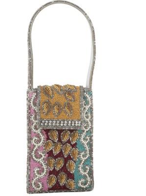 Vama Fashions Leaf Design Mobile Pouch