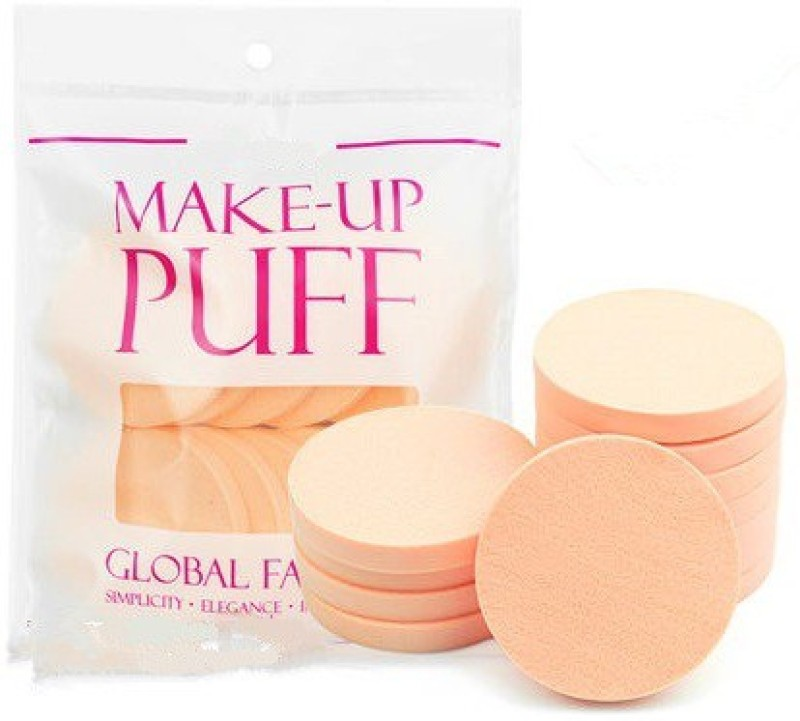 One Personal Care Professional Make Up Puff(Beige)
